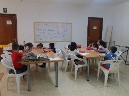 Aula de refuerzo educativo